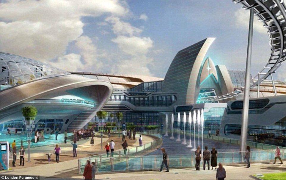 """Die """"Starfleet Academy"""" soll in London etwas üppiger ausfallen, als im Movie Park Germany © The London Project"""