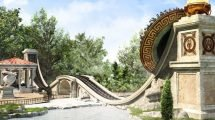 Discobelix im Parc Asterix