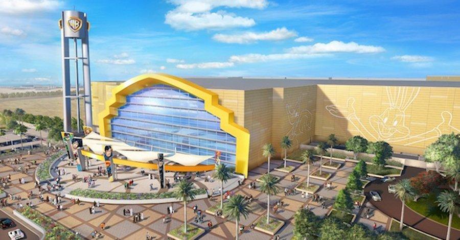 Eingangsbereich der kommenden Movie World Abu Dhabi