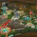 Erste Konzeptzeichnung Six Flags Dubai