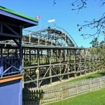 Ghoaster Coaster die Kinderholzachterbahn