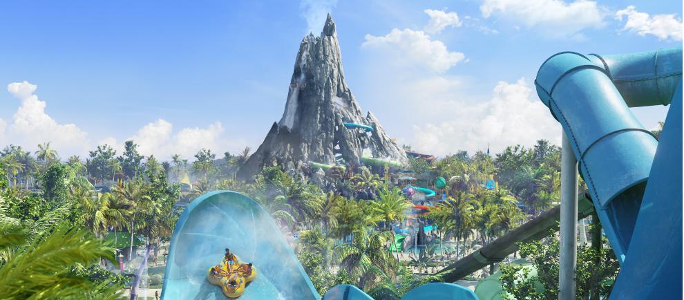 Konzept Volcano Bay (c) Universal Studios Orlando