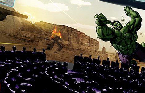 Hulk Epsilon Base 3D der 360 Grad Simulator (c) IMG Worlds of Adventure