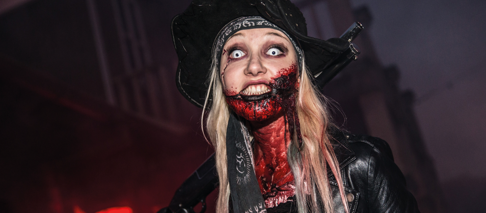 Zombie beim Halloween Horror Fest (c) Movie Park Germany