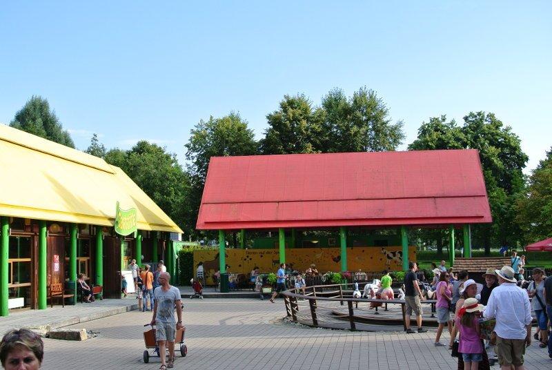 Die Grüne Oase im Ravensburger Spieleland