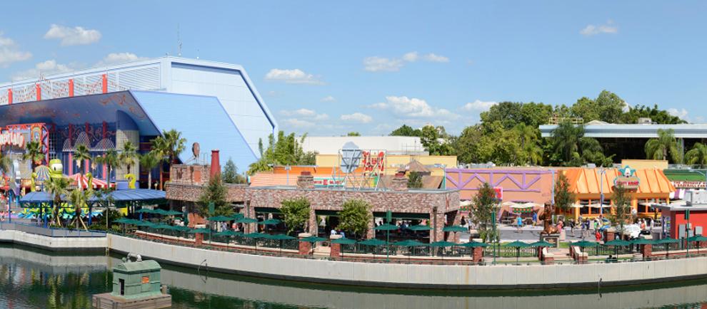 Springfield (c) Universal Studios Orlando