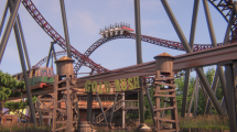 Gold Rush Konzept (c) Attractiepark Slagharen