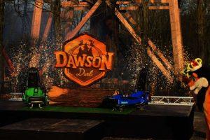 """Das ist das Logo vom """"Dawson Duel"""" (c) Bellewaerde Park"""