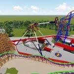 Standort für Wonder Woman wird zwischen dem Joker und Superman sein (c) Six Flags