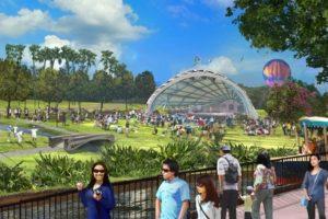 Konzept des neuen Parks in Hanoi (c) Sun Group