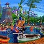Dies wird die Segelbootfahrt im Holiday Park (c) Neverland Themepark Projects