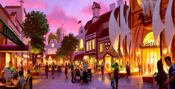 Unterhaltungsareal mit Casino und Hotels (c) Nature Wonder World