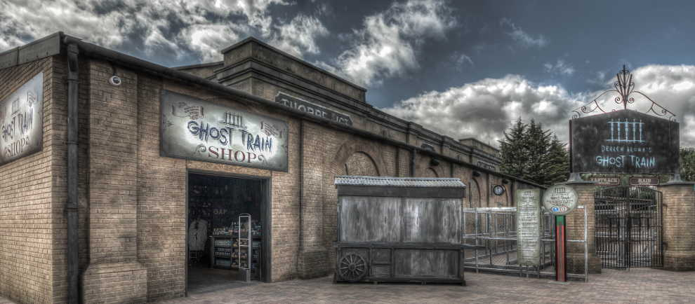 Derren Brown´s Ghost Train (c) Thorpe Park / Simworx