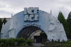 "Das war der Eingang zum ""ICE AGE Adventure"" im Movie Park Germany"