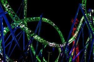 Die Beleuchtung wurde von Ride Entertainment und KCL Engineering umgesetzt (c) Adventureland