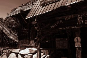 """Die """"Silver Mine"""" aus dem Freizeitpark Plohn (c) Maik Rimpl"""