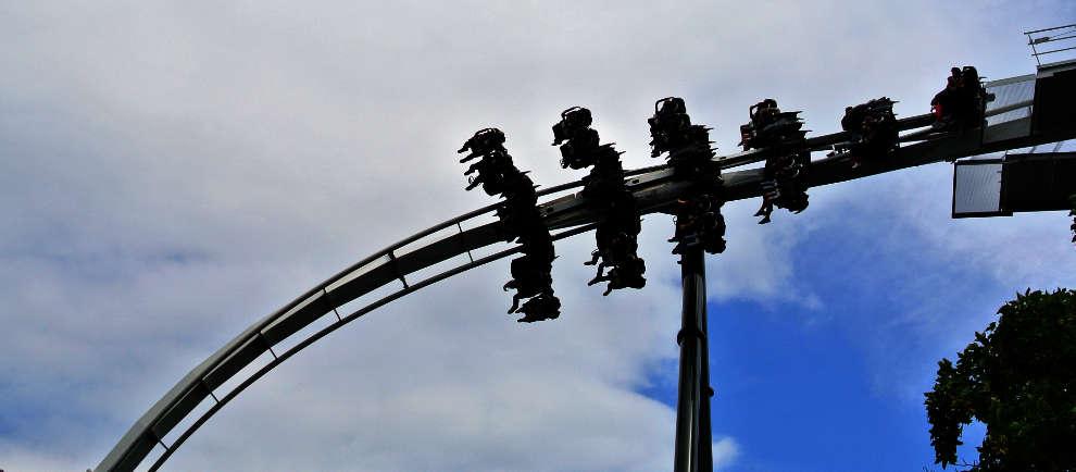 """""""Flug der Dämonen"""" im Heide Park Resort"""