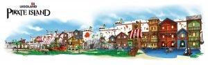 So soll das Piraten Hotel aussehen, welches 2018 eröffnen wird (c) Legoland Deutschland