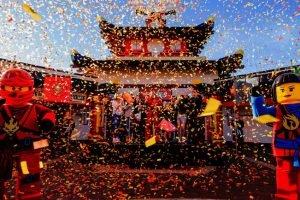 """""""Ninjago World"""" Eröffnung mit dem Fuller House Cast (c) Legoland Florida"""