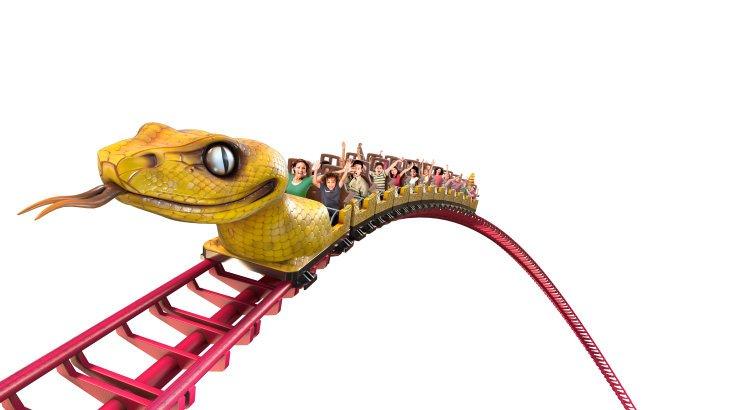 """Konzept des Zugs von """"Le Serpent"""" (c) Le Parc du Petit Prince"""