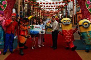 Mittlerweile 25 Millionen Besucher haben die Park besucht (c) Universal Studios Singapur