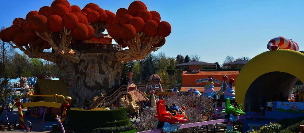 "Ein Einblick in ""Fantasy Kingdom"" (c) Gardaland"