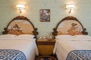So sehen die Zimmer aus (c) Tokyo Disneyland