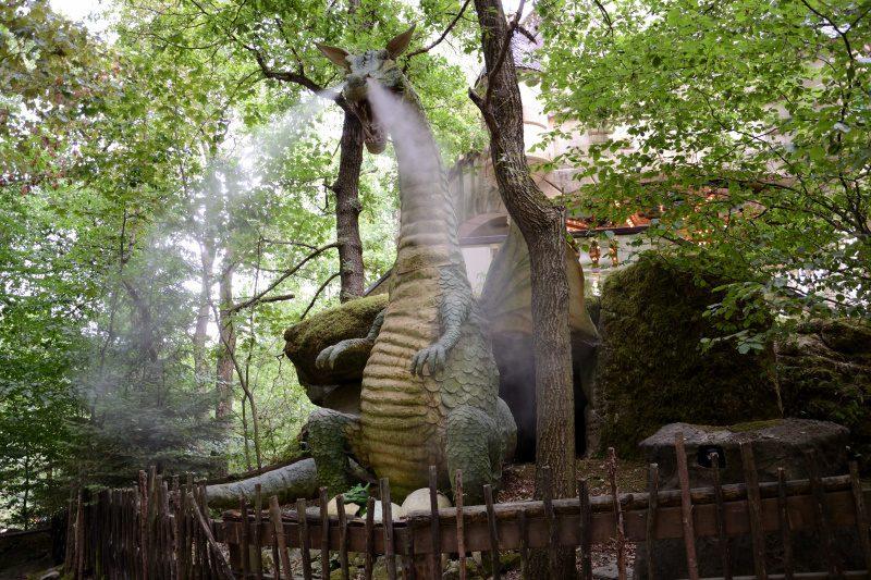 Auch vermeintlich gefährliche Drachen, befinden sich im Märchenwald (c) Maik Rimpl