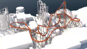Dieses Konzept zeigt die geplante Bahn (c) Gröna Lund