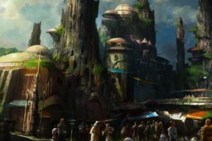 Star Wars Land Konzept (c) Disney