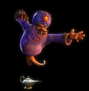 """Das wird einer der Geister aus """"Ghostbusters 5D"""" (c) Heide Park Resort"""