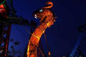 """""""Cobra´s Course"""" während der Summer Nights (c) Busch Gardens Tampa"""