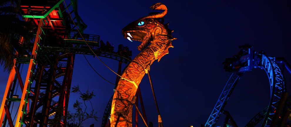Summer Nights In Busch Gardens Tampa Im Neuen Gewand