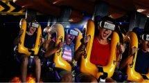 (c) Six Flags America