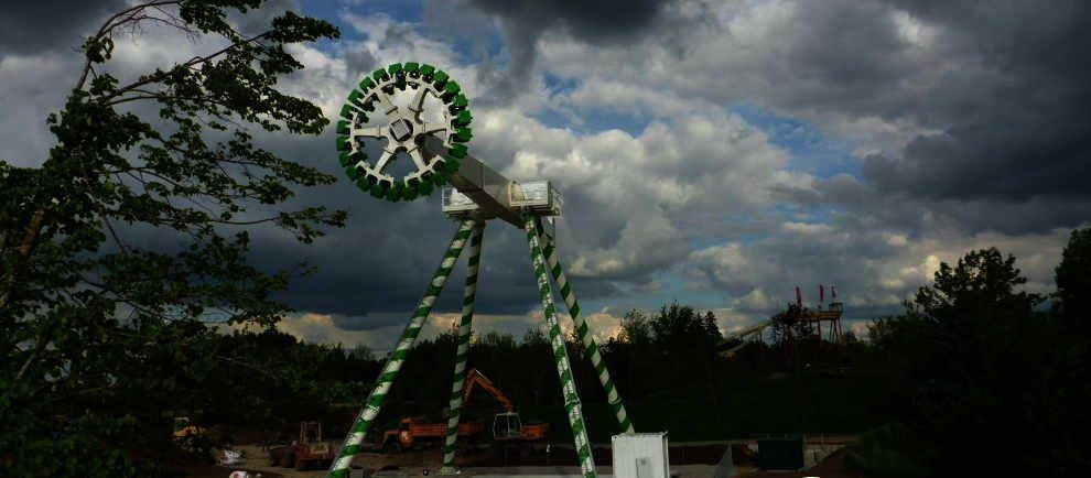 """High Fly"" im Skyline Park (c) SkyFans.de"