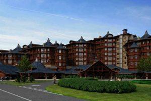So soll das Hotel aussehen (c) Tayto Park