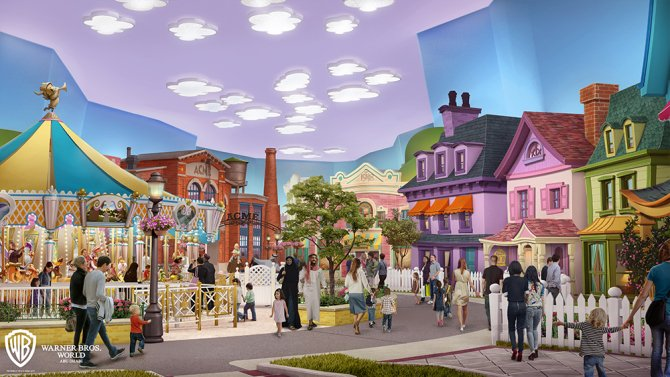 """Cartoon Junction"" (c) Warner Bros. Movie World"