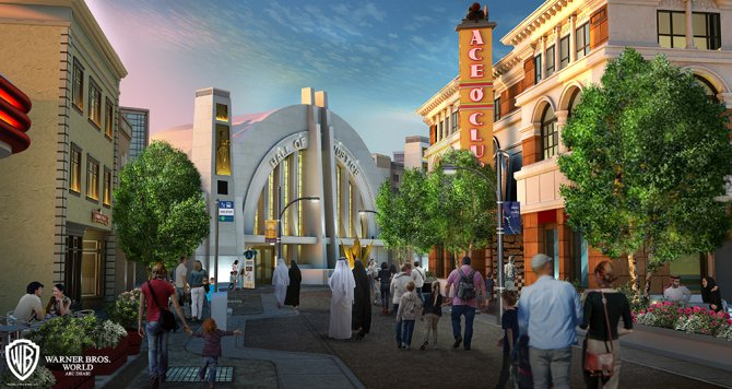 """Metropolis"" (c) Warner Bros. Movie World"
