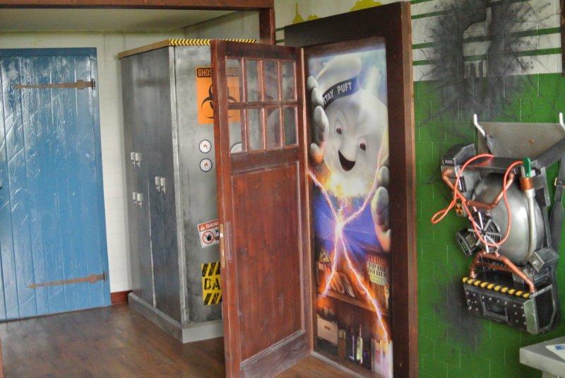 Heide Park Resort Ghostbusters Themenzimmer 2