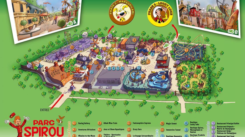 Masterplan (c) Parc Spirou
