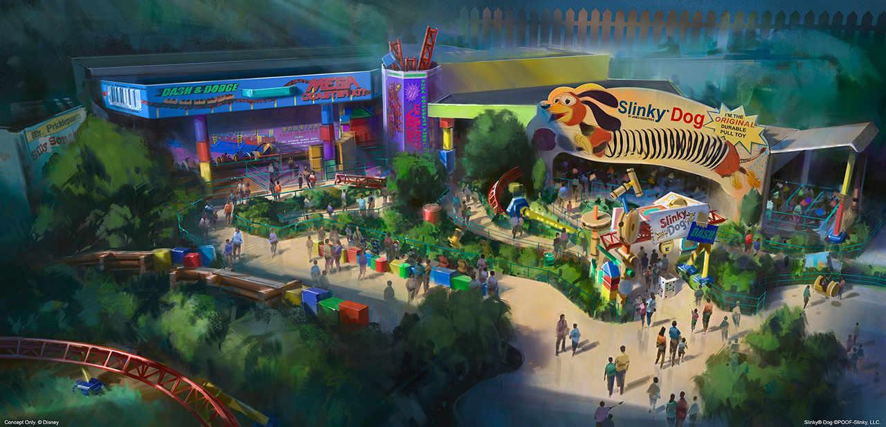 "So wird ""Toy Story Land"" (c) Disney"