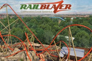 """RailBlazer"" (c) California´s Great America"