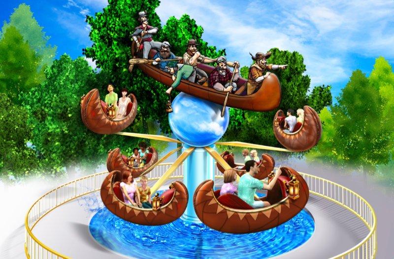 """Flying Canoes"" (c) Canadas Wonderland"