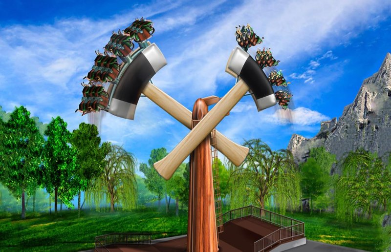 """Lumberjack"" (c) Canadas Wonderland"