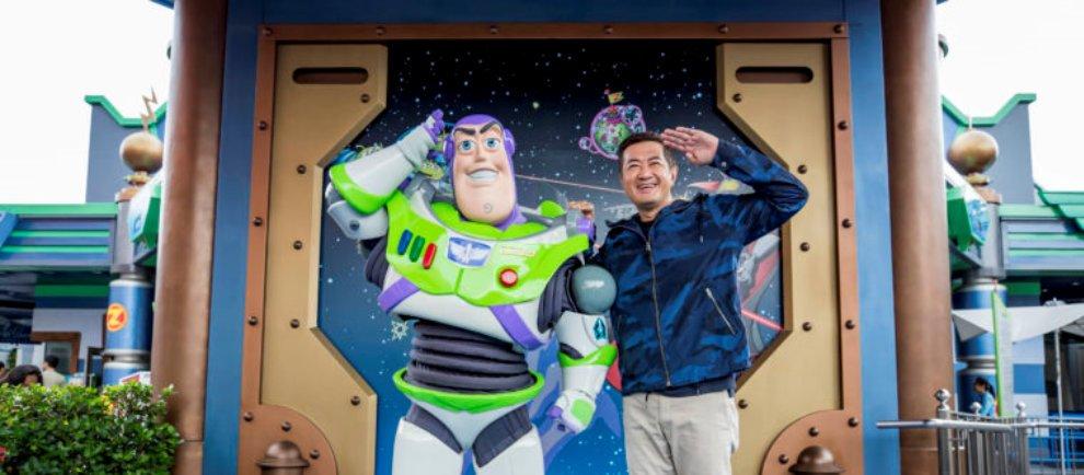 Hong Kong Disneyland Buzz Lightyear Abschied