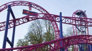 "So sieht ""Adrenaline Peak Roller Coaster"" aus (c) Oak´s Amusement Park"