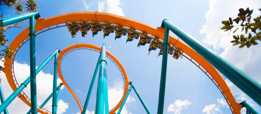 """Goliath"" (c) Six Flags Magic Mountain"