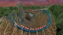 """Twisted Cyclone"" (c) Six Flags Over Georgia"