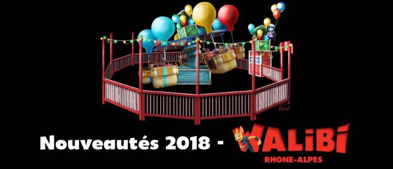 Walibi Rhone Alpes Festival City Ballonfahrt