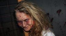 """Eine Bewohner des """"Asylum"""" (c) Heide Park Resort / Boo Crew"""